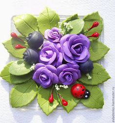 polymer clay magnet
