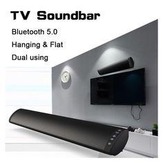 Wireless Audio Rechargeable  Wall-Mount & Travel Soundbar
