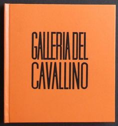 Galleria del Cavallino. Mostre 1966. Venezia, Galleria del Cavallino, 1966. Raccolta di cataloghi originali rilegati editorialmente pubblicati in occasione delle mostre allestite dall'8 gennaio 1966 al 9 gennaio 1967 (636°-656°)