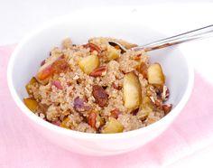 Quinoa ontbijt met pruim – SKINNY SIX