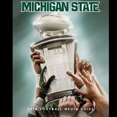 Check out the front cover of the 2014 Spartan Football Media Guide! #msufootball #spartans #Padgram