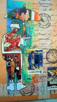 Bastelmania: Stamp people, mail art, this and that.