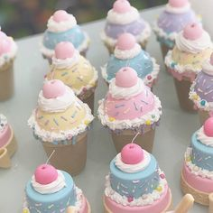 Cake Cookies, Cupcakes, Cupcake Cakes, Cupcake Shops, Ice Cream Party, Candy Party, Candy Shop, Candyland, Mini Cakes