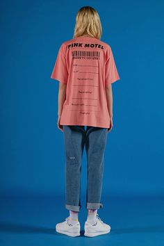 ADERerror Spring/Summer16 Collection 'A PLAN' lookbook image Contemporary Minimal Color Graphic Slogan 'But near missed things' www.adererror.com