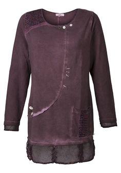 Typ , Sweatshirt, |Material , Baumwolle, |Materialzusammensetzung , 100% Baumwolle. Besatz: 100% Polyester, |Ausschnitt , Rundhals-Ausschnitt, |Gesamtlänge , größenangepasste Länge von ca. 80 bis 88 cm, |Ärmellänge , Langarm, | ...