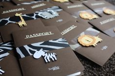 Carte invitation Jungle Noah