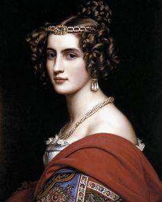 Marie, Queen of Bavaria by Joseph Stieler