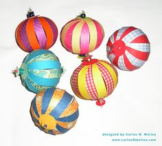 How to: Paper Ornaments - Tutorial | Flickr - Photo Sharing!