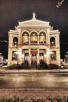 Munich, State Theater at the Gärtnerplatz. by Christoph Bauer