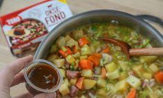 Rask lapskaus | Oppskrift | EXTRA Salsa, Bacon, Food And Drink, Ethnic Recipes, Salsa Music, Pork Belly