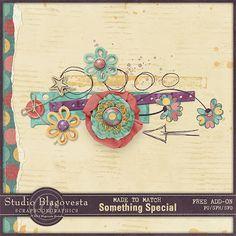 Scrapbooking TammyTags -- TT - Designer - Studio Blagovesta, TT - Item - Kit or Collection, TT - Style - Mini Kit*