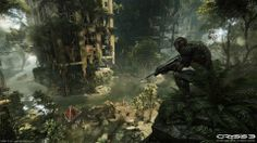Crysis 3 environment concept, artwork like this inspires my autonomy and mastery, seeing environments like this being created by hand is awe-inspiring, it speaks straight to the freedom of creation in making a fantastic world around the players, it also shows the progress of mastering my craft and the things that come from it.