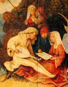 Hieronymus-Jérôme Bosch - Primitif Flamand - Le chariot de foin - Central Pannel, detail