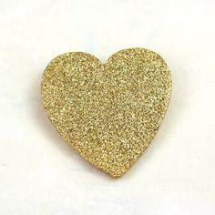 Heart Of Gold Glitter