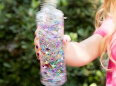 My girls are in love with these sparkly, whimsical magic bottles!