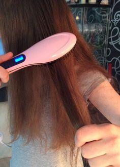 Mousand - Haarglätter Bürste Glätten Elektrisch Haarbürste
