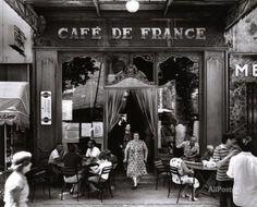 Café de France Kunstdruk