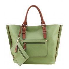Alfio Young Trio Green Handbag