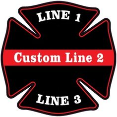 Firefighter Decals for the Fire Department Ranks. Firefighter/EMT Diamond Plate Maltese Decal is an exterior window decal. We offer ranks from EMT to Retired! Firefighter Stickers, Firefighter Emt, Volunteer Firefighter, Fire Department Ranks, Fire Helmet, Truck Decals, Custom Decals, Window Cleaner, Window Decals