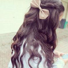 long hair waves