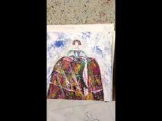 """vídeo-blog de goloviarte ,post de hoy """"como realizo y pinto una menina """""""