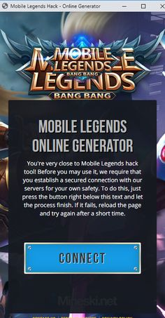 Mobile Legends Hack Tool — Unlimited Free Diamonds Generator Android-iOS Tested Mobile Legends Hack 2019 Updated — Get Free Diamonds HACK Mobile Legends Free Diamonds 2019 No Survey No Password Mobile. Legend Mobile, Mobile Game, New Mobile, Moba Legends, Episode Choose Your Story, Legend Games, Play Hacks, App Hack, Android Hacks