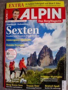 3 x ALPIN!Das Berg Magazin!Ausgaben:  6/17 ~ 5/17 ~ 4/17!NEU!!!