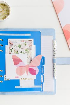 Share the kikki.K Planner love and find out how to customise your Ice Blue Planner with our Be Brave collection of gorgeous stationery