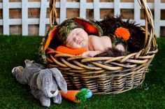 Camo Bunny Outfit for Newborns Infants and Babies by BabblingHook