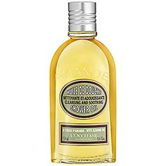 L'Occitane - Almond Shower Oil- Use it instead of shaving cream. Leaves skin so soft, not oily at all. My favorite shower oil. I buy it in bulk :|