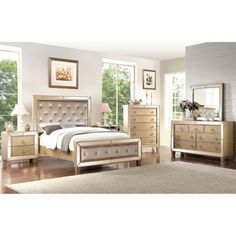 Celine 6 Piece Bedroom Furniture Set Http://www.dealepic.com/