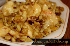 Honey Walnut Shrimp | Sugar for Breakfast: Honey Walnut Shrimp