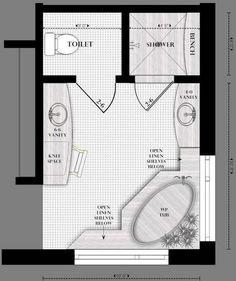 Grundriss Bad mit Eckfenster Badezimmer, Badezimmer
