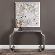 design meets ancient scrolls in this uttermost agathon console table   overscaled scrolls and zinc sheeting construction define this console  normalizovan   d  ly   vod  c   elementy   kuli  kov   veden   agathon      rh   pinterest