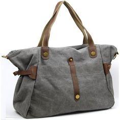 Sacs+porté+épaule+Oh+my+bag+Sac+à+main+femme+CUIR+et+TOILE+-+Modèle+FIDJI+GRIS+110.00+€