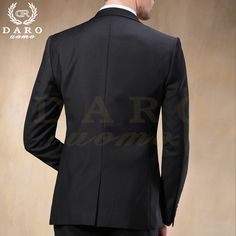 2015 Western style Black Color Men Business Suits Brand Boss Suit For Men's Wedding Groom blazers Tuxedos DR88602-1#