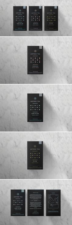 Anteeo Tea Company Packaging Design