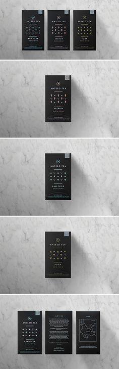 Anteeo Tea Company Packaging Design