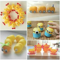 Поделки из яйц от киндеров Crafts For Kids, Diy Crafts, Ideas, Craft, Crafts For Toddlers, Kids Arts And Crafts, Homemade, Crafts, Diy Projects
