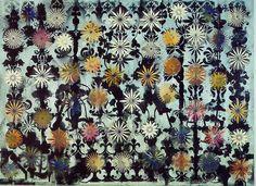 phillip taffe | Philip Taaffe , Ginostra Flowers , 1993
