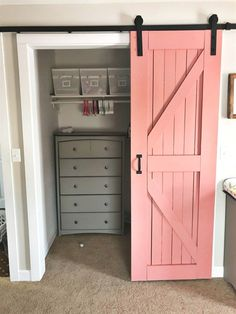 Home Decoration Cheap Rustic Baby Girl Nursery - Jenny Weg.Home Decoration Cheap Rustic Baby Girl Nursery - Jenny Weg Baby Bedroom, Bedroom Decor, Rustic Girls Bedroom, Room Baby, Kids Bedroom Girls, Baby Girl Bedroom Ideas, Baby Nursery Ideas For Girl, Nursery Room Ideas, Bedroom Closets