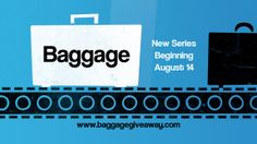 promo slide for a sermon series called Baggage...