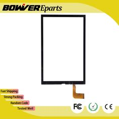 """Black 8.0"""" Touch Screen Digitizer For China GT80PG147 Front Touch Panel Glass Sensor Replacement"""