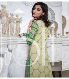 Plush Embroidered Kurti Collection 2015 Vol-1 by Riaz Arts EK-11