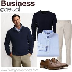 """Business Casual Men´s"" by valeskatoro on Polyvore"