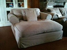 Super big comfy chair.