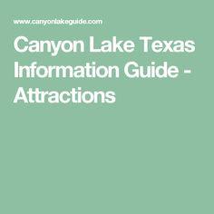 Canyon Lake Texas Information Guide - Attractions Vacation Rentals, Vacations, Canyon Lake Texas, Guadalupe River, Parasailing, Texas Hill Country, Rivers, Lakes, Kayaking