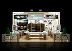Exhibition stand Lantmannen Unibake on Behance