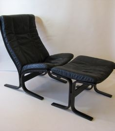 Norway Westnofa Siesta Easy Chair Ottoman by Ingmar by windesign, $950.00