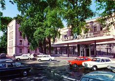 Im Juli - Day - Hungary - Budapest - 1972 - front Vw Beetles, Fiat, Hungary, Budapest, Mercedes Benz, Bmw, New Class, Vw Bugs, Volkswagen Beetles